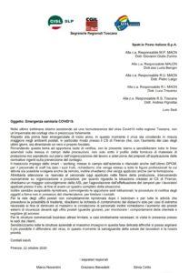 POSTE, LA LETTERA CONGIUNTA DI SLC-CGIL, SLP-CISL E UILPOSTE IN RELAZIONE ALL'EMERGENZA COVID-19