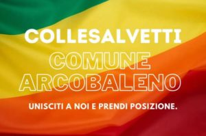 """""""COLLESALVETTI COMUNE ARCOBALENO"""", IL VIDEO REALIZZATO DA STEFANO SANTINI (FILCTEM-CGIL)"""