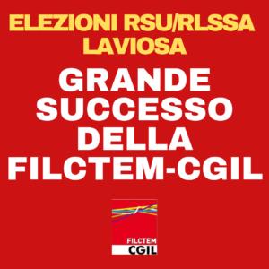 LIVORNO, ELEZIONI RSU/RLSSA LAVIOSA: GRANDE SUCCESSO DELLA FILCTEM-CGIL