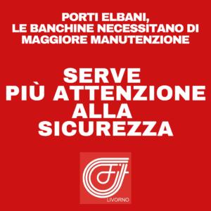 """PORTI ELBANI, GUCCIARDO (FILT-CGIL): """"LE BANCHINE NECESSITANO DI MAGGIORE MANUTENZIONE. SERVE PIU' ATTENZIONE ALLA SICUREZZA"""""""